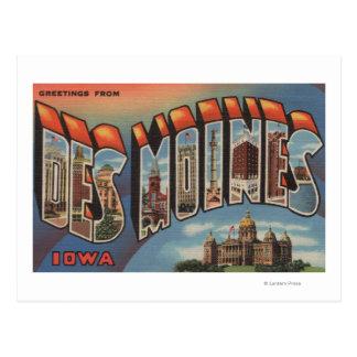Des Moines, Iowa (bâtiment capital) Cartes Postales