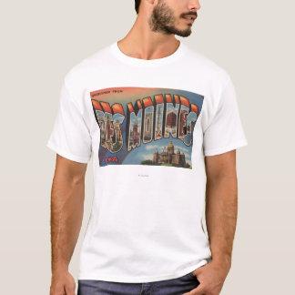 Des Moines, Iowa (bâtiment capital) T-shirt