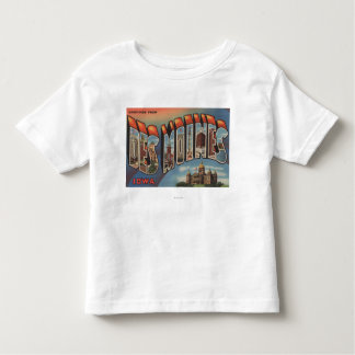 Des Moines, Iowa (bâtiment capital) T-shirt Pour Les Tous Petits