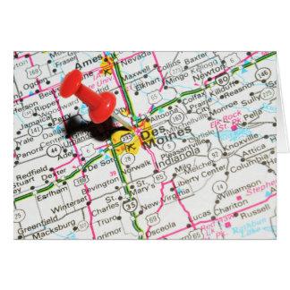 Des Moines, Iowa Card