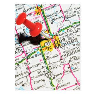 Des Moines, Iowa Postcard