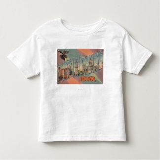 Des Moines, Iowa (tête d'orignaux) T-shirt Pour Les Tous Petits