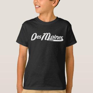 Des Moines Iowa Vintage Logo T-Shirt