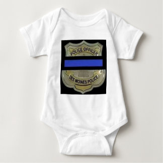 Des Moines Police Baby Bodysuit