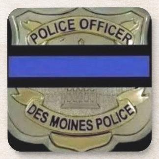 Des Moines Police Beverage Coasters