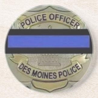 Des Moines Police Coaster