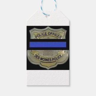 Des Moines Police Gift Tags