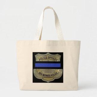Des Moines Police Large Tote Bag