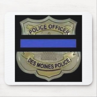Des Moines Police Mouse Pad