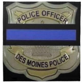 Des Moines Police Napkin