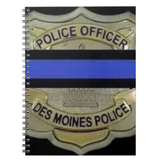 Des Moines Police Spiral Notebook