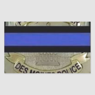Des Moines Police Sticker