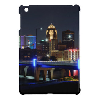 Des Moines Skyline With Orlando Tribute Case For The iPad Mini