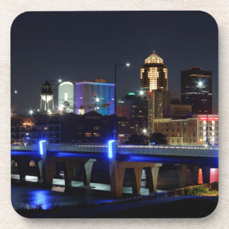 Des Moines Skyline With Orlando Tribute Coaster