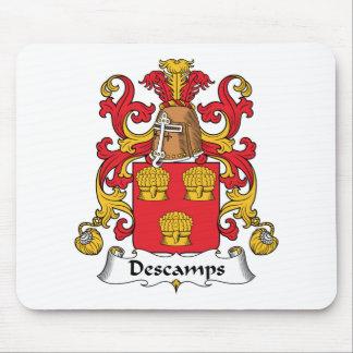 Descamps Family Crest Mouse Pad