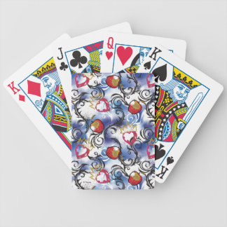 Descendants | Evie | Apple Pattern Bicycle Playing Cards