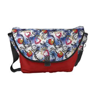 Descendants   Evie   Apple Pattern Courier Bags