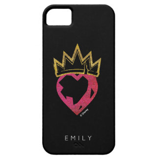 Descendants | Evie | Heart and Crown Logo iPhone 5 Case