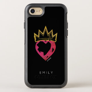 Descendants | Evie | Heart and Crown Logo OtterBox Symmetry iPhone 8/7 Case