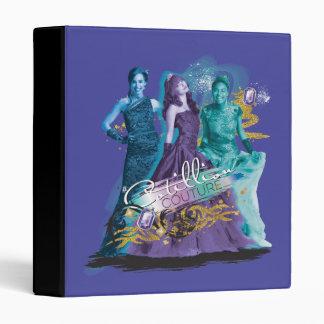 Descendants | Mal, Evie & Uma | Cotillion Couture Vinyl Binders