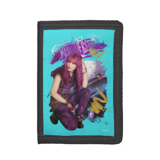 Descendants | Mal | Misunderstood Tri-fold Wallets