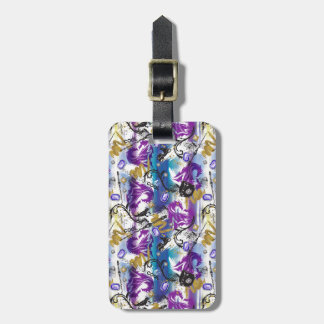 Descendants | Mal | Two-Headed Dragon Pattern Luggage Tag