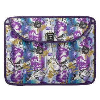 Descendants | Mal | Two-Headed Dragon Pattern Sleeve For MacBooks