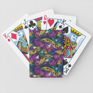 Descendants | Rebel Attitude Pattern Bicycle Playing Cards