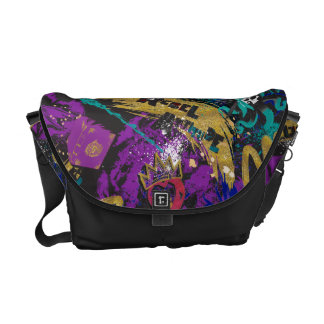 Descendants | Rebel Attitude Pattern Messenger Bags