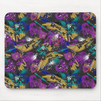 Descendants | Rebel Attitude Pattern Mouse Pad