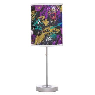 Descendants | Rebel Attitude Pattern Table Lamp