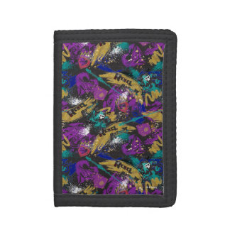 Descendants | Rebel Attitude Pattern Trifold Wallet