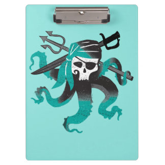 Descendants | Uma | Pirate Skull Logo Clipboard