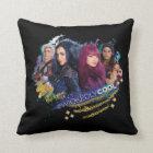 Descendants   Wickedly Cool Best Friends Throw Pillow
