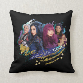 Descendants | Wickedly Cool Best Friends Throw Pillow