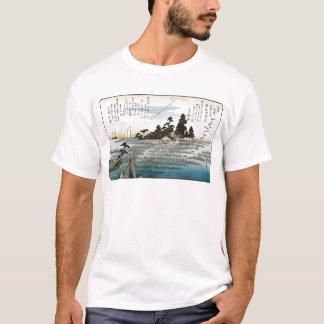 Descending Geese at Haneda, c. 1837-38. JAPAN. T-Shirt