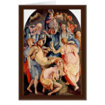 Descent From The Cross By Pontormo, Jacopo (Best Greeting Card