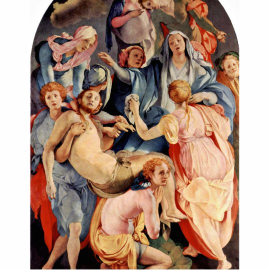 Descent From The Cross By Pontormo, Jacopo (Best Standing Photo Sculpture