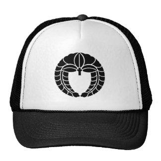 Descent rattan trucker hat