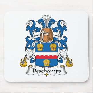 Deschamps Family Crest Mouse Pad