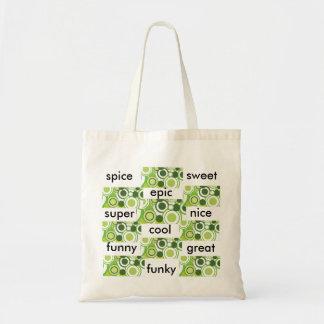 describing you tote bag