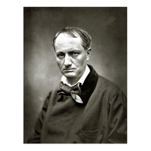 Description Charles Baudelaire (1821-1867) Scanned Post Cards