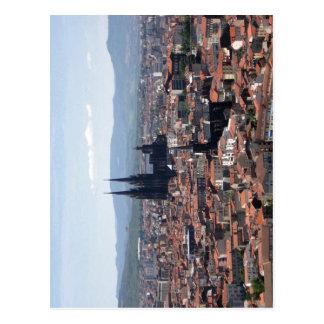 Description Clermont-Ferrand seen from Montjuzet P Postcard