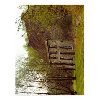 Description Cuesmes (Belgique), la maison Van Gogh Postcard