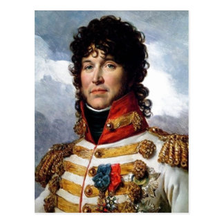 Description Fragment of portrait of Joachim Murat  Postcard