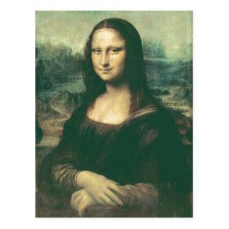 Description Mona Lisa Image has been modified for  Postcard