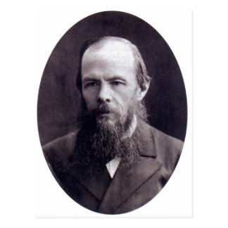 Description Photo of F. Dostoevsky :    Suomi: Fjo Postcard