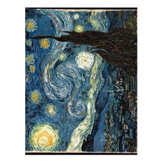 Description The Starry Night Date Author Vincent v Postcard
