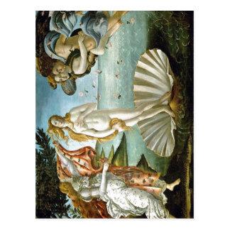 Description w:Botticelli The Birth of Venus Date c Postcard