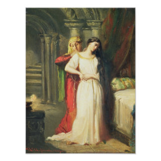 Desdemona Retiring to her Bed, 1849 Poster